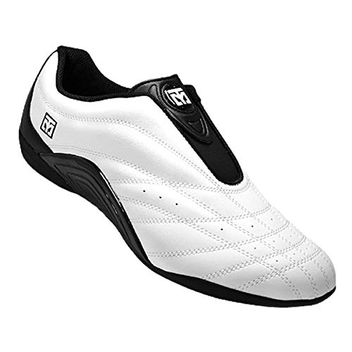 Mooto Wings Korea Taekwondo Shoes TKD Competition Twotone & Black 4 1/2 to 14 (Black & White, 275mm(US 9))