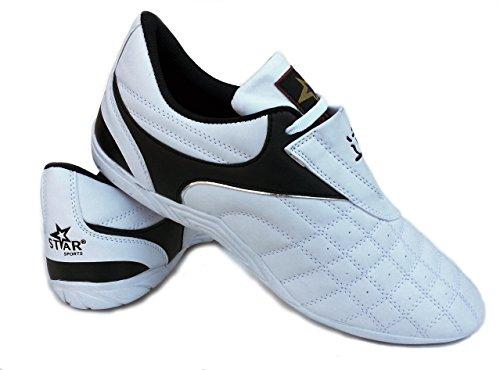 Star Sports Martial Arts Taekwondo Karate Kung Fu Tai Chi Shoes (Size 10 (28.5CM))