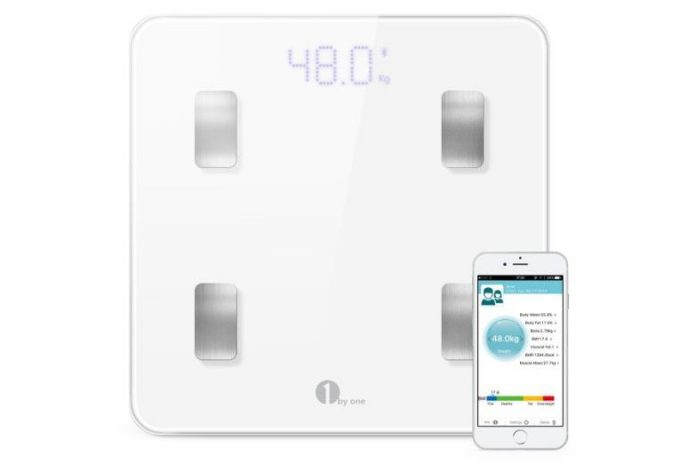 1byone Digital Smart Wireless Body Fat Scale
