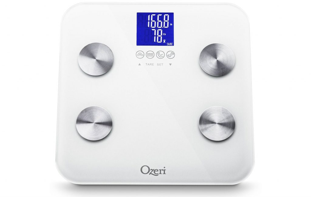Ozeri Touch 440 lbs Total Body Bath Scale Review