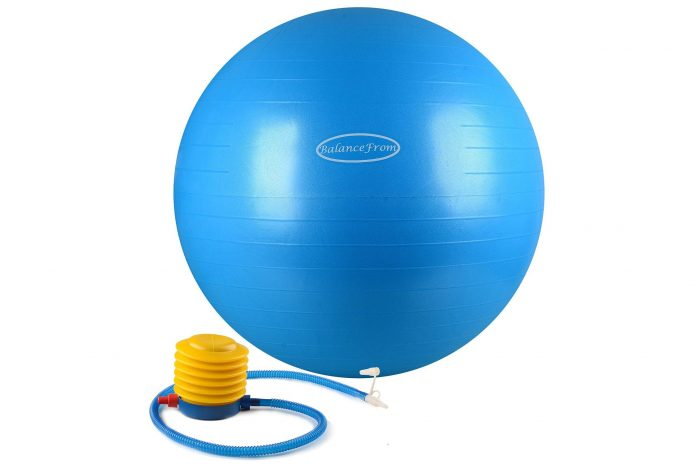 BalanceFrom Anti-burst Fitness Ball with Pump