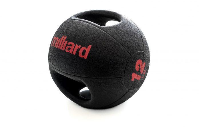 Milliard Double Grip Medicine Ball
