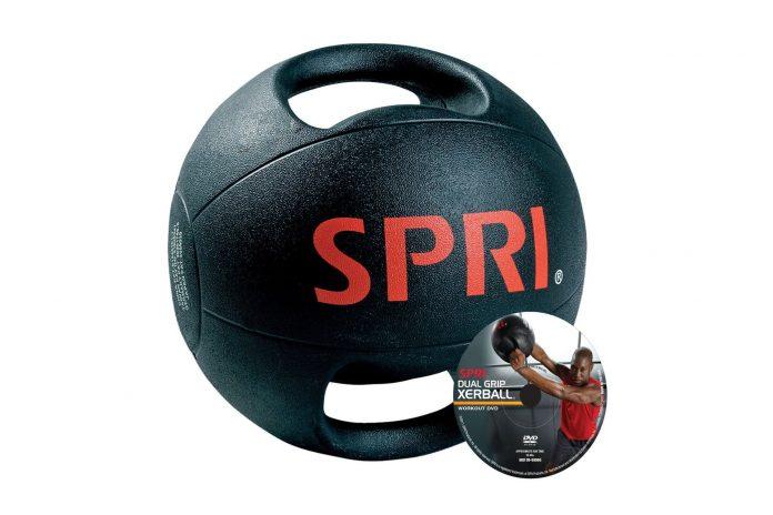 SPRI Dual Grib Medicine Ball