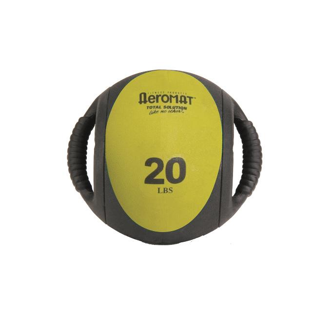 aeromat medicine ball with handles