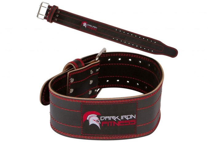 Dark Iron Fitness Power Lifting Belt