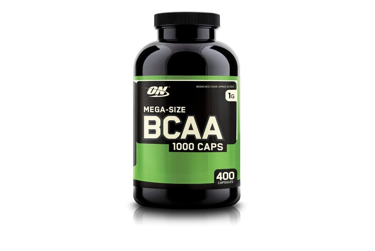 ON BCAA capsules