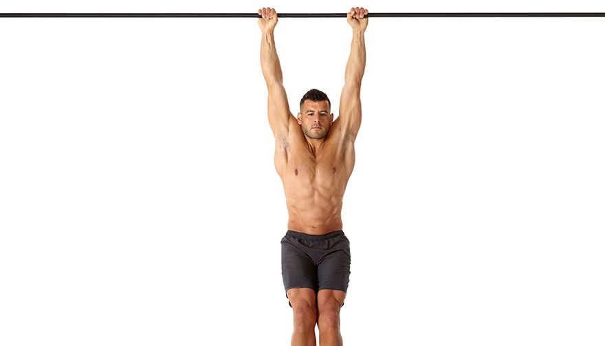 hanging for shoulder pain