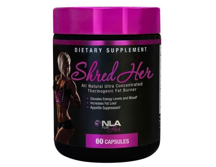 shred her natural fat burner