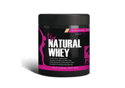 Her Natural Whey Protein Powder for Weight Loss