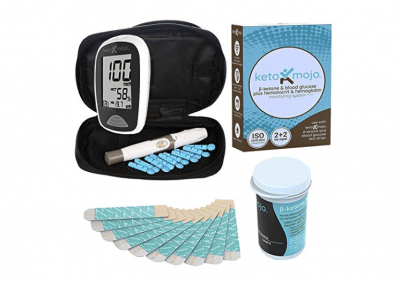 KETO-MOJO Blood Ketone and Glucose Testing Meter Kit